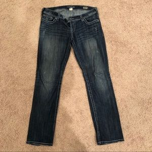 Silver Berkly straight jeans size 31